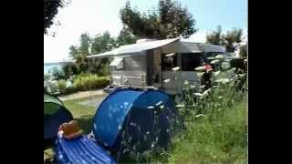 Camping Beau Rivage au Lac de Pareloup en Aveyron