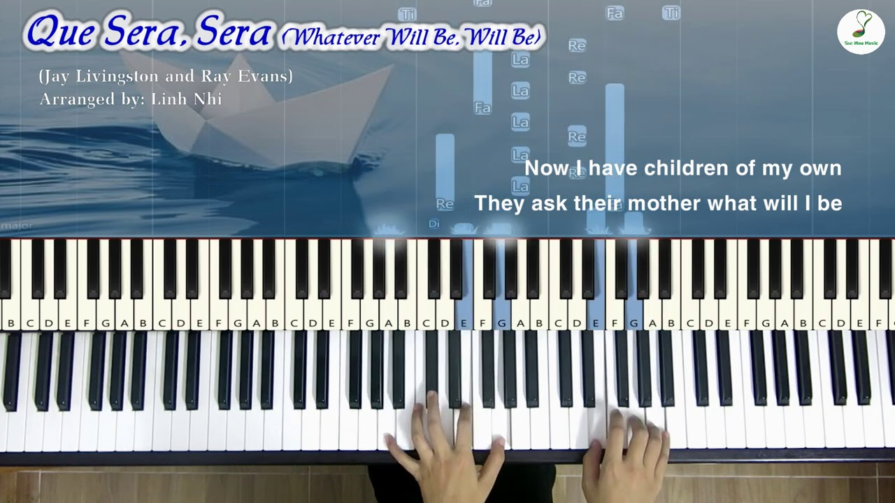 Que Sera, Sera (What will be, will be) | Piano cover | Linh Nhi
