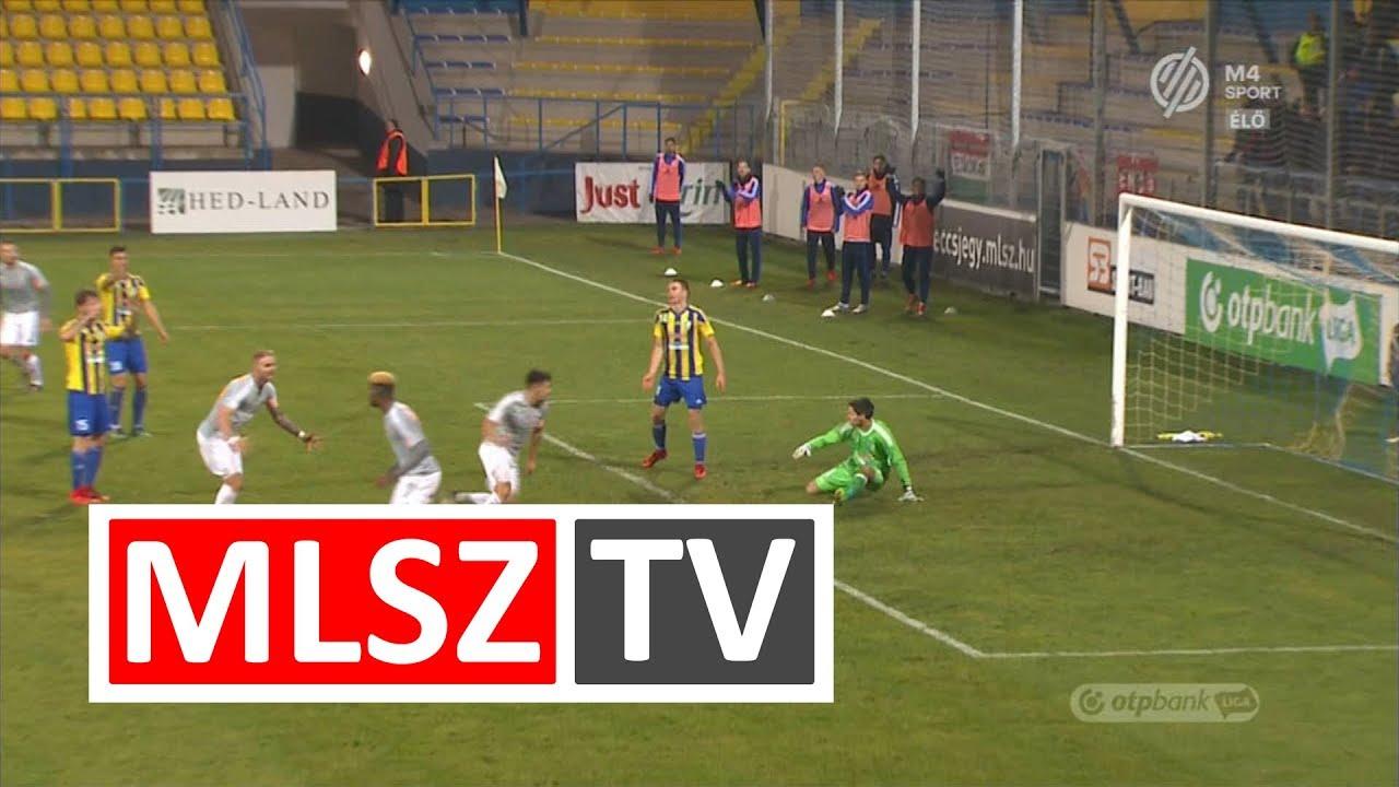 Gaál Bálint  gólja a Mezőkövesd Zsóry FC – Vasas FC mérkőzésen