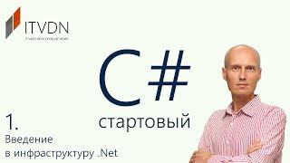 Обучение C# (c sharp) для начинающих. Урок 1. Введение в инфраструктуру .Net.