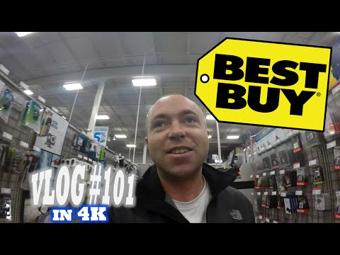 Holiday Shopping at Best Buy! |4K| (Vlog #101)
