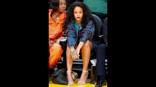 Rihanna Hot Sweet Sexy Feet & Thighs | Rihanna Sexy Legs