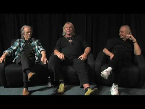 Steve Howe, Chris Squire and Alan White of Yes - Capes