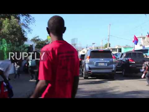 Haiti: Police clash with protesters during Dessalines' Day in Port-au-Prince
