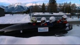 Jeremy Clarkson Rides with the British Army Bobsleigh Team - Speed - BBC