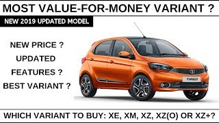 2019 Tata Tiago Price & Features| Most value for money variant
