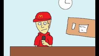 Mcdonalds Idioten