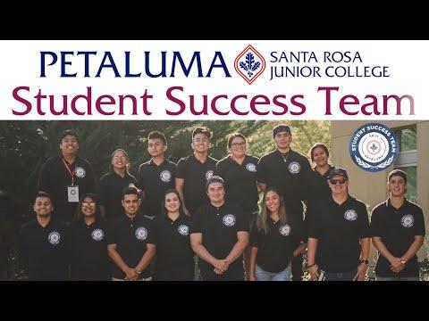 Santa Rosa Junior College Petaluma Student Success Team