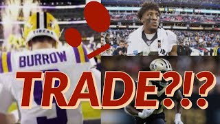 New Orleans Saints Trade Rumors: Are The Saints Looking To Trade for Joe Burrow? AK? Michael Thomas?