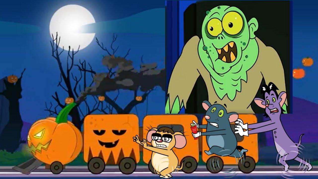 Rat-A-Tat |'Pumpkin 🎃 Halloween Train Cartoons for Children'| Chotoonz Kids Funny #Cartoon Videos