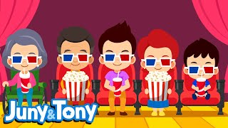My Family | Family Songs for Kids | Preschool Songs in English | Juny&Tony by KizCastle