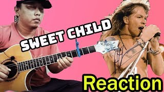 Baixar Alip Ba Ta - Sweet Child O' Mine - Guns n' Roses (fingerstyle cover) || Guitarist Reaction