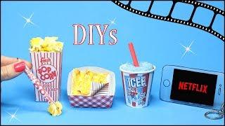 5 DIY School Supplies {Easy}! Weird DIY Crafts - Hacks w/ Food! Mini Notebook, Pens…Cool DIYs