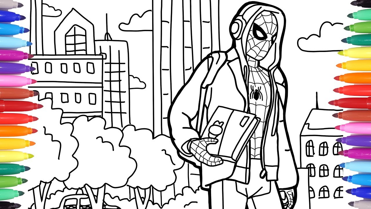 coloring pages of spiderman # 26