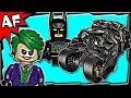 Batman TUMBLER UCS 76023 Lego DC Super Heroes Stop Motion Build Review