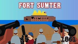 Fort Sumter (La Guerre Civile Américaine)