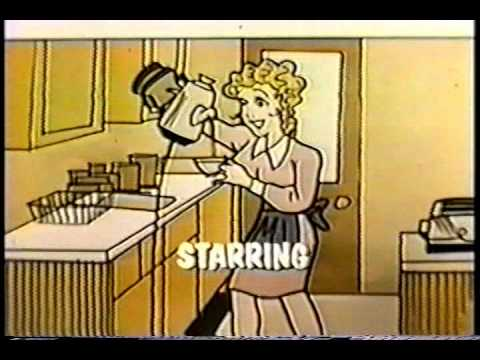 BLONDIE 1968 version opening credits CBS sitcom.
