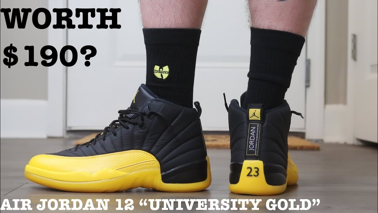 air jordan 12 university gold 2020
