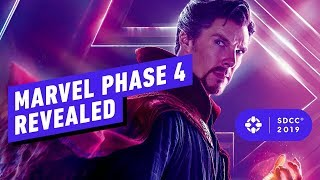 Download Marvel's Phase 4 Panel Blew Our Minds - Comic Con 2019 Mp3 and Videos