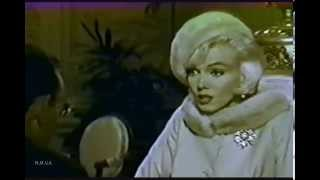 "Marilyn Monroe and Wally Cox - Rare/Raw ""Something's got To Give"" Outtake May 31st  1962"