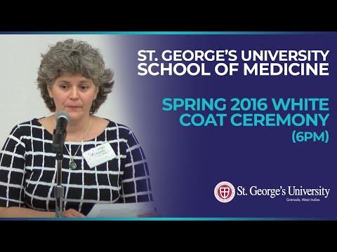 (6pm) Spring 2016 SGU School of Medicine White Coat Ceremony