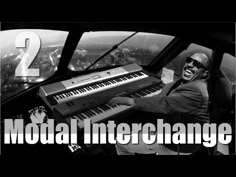 Modal Interchange Stevie Wonder Examples/Tutorial  part 2
