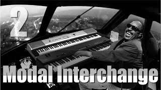 Modal Interchange Stevie Wonder Examples/Tutorial  part 2