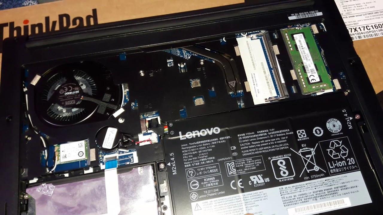 Lenovo Thinkpad E470 16GB DDR4 single ram