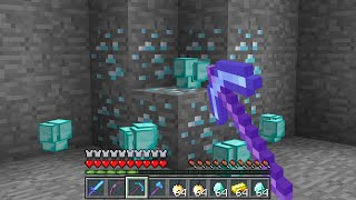 Minecraft UHC but EVERY single block drops in STACKS...