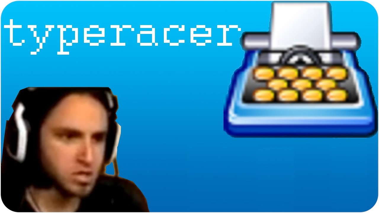 Typeracer - Reckful loses it - YouTube