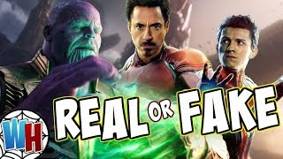 Avengers 4 -Tony Stark Making Thanos Buster REAL or FAKE Theory?