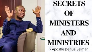 Secrets your Pastor won't tell you about Church and Power - Apostle Joshua Selman