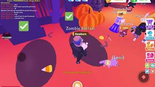 I TRIED TO COLLECT ALL THE CANDY! | Adopt Me