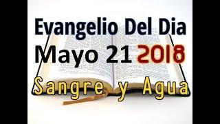 Evangelio del Dia- Lunes 21 Mayo 2018- Memoria de Maria Madre de la Iglesia- Sangre y Agua