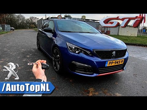 2018 Peugeot 308 GTi REVIEW POV on AUTOBAHN by AutoTopNL