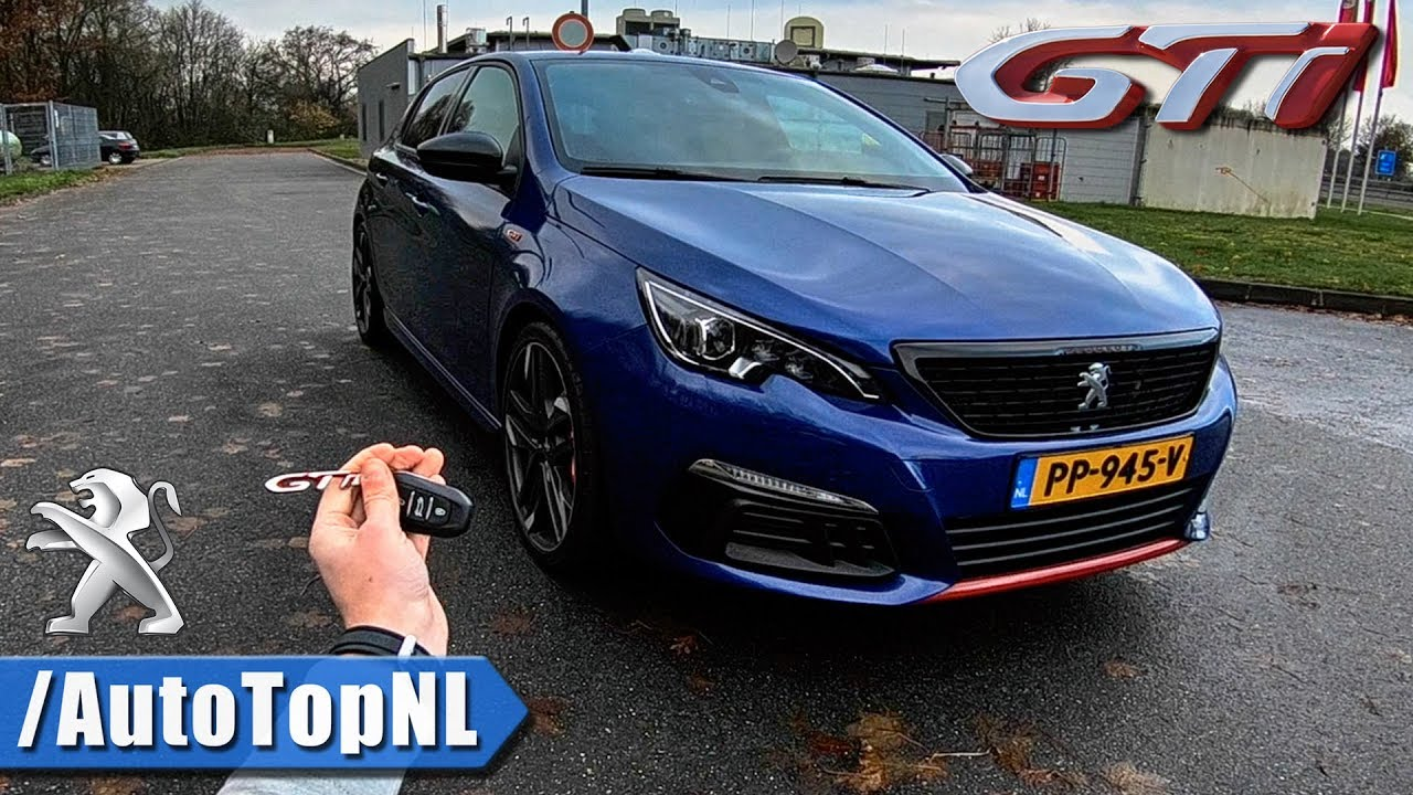 2018 peugeot 308 gti review pov on autobahn by autotopnl youtube. Black Bedroom Furniture Sets. Home Design Ideas