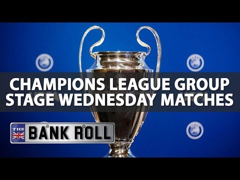 2017/18 Champions League Group Stage Betting   Wed 27th Sept