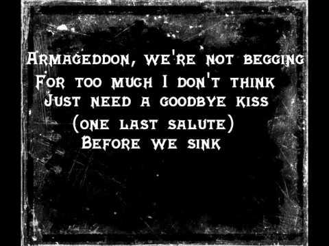 Alkaline Trio-Armageddon Lyrics