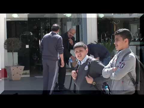 الكاميرا الخفية الفلسطينية امسك اعصابك (1) الحلقة الثالثة انفلونزا الخنازير2