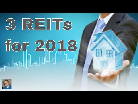 3 REITs to buy in 2018