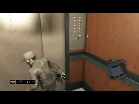 Wall Breaching The Merlaut Elevator - Watch Dogs 1