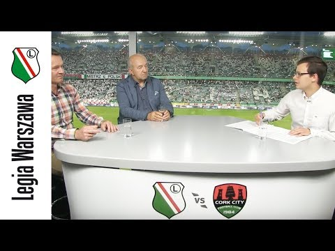 Studio Ł3: Legia vs Cork