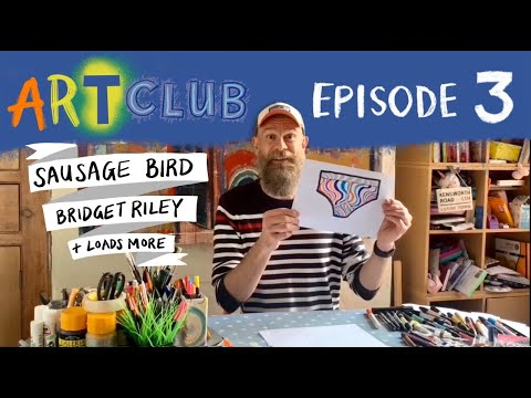 Art Club with Olaf Falafel - Episode 3 - YouTube