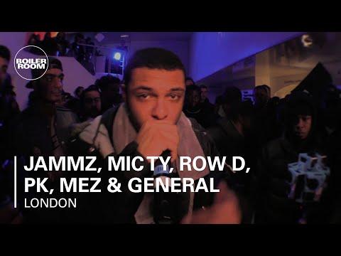 Jammz, Mic Ty, Row D, PK, Mez & General Courts B2B Tiatsim Boiler Room London Live Set