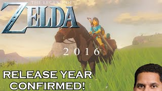 Zelda Wii U CONFIRMED FOR 2016! STILL NO NAME!
