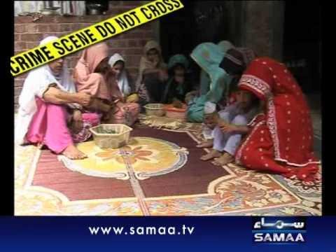 Crime Scene August 17, 2011 SAMAA TV2/2