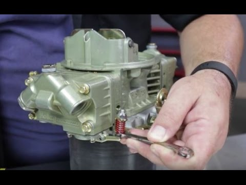 How to Adjust Tune Holley Carb Carburetor Tutorial Instructions