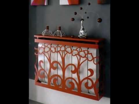 heizk rperverkleidungen ideen und vorschl ge f r deko aus schmiedeeisen im flur und empfang. Black Bedroom Furniture Sets. Home Design Ideas