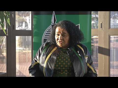 Comrade Edna Molewa speaks on International Relations