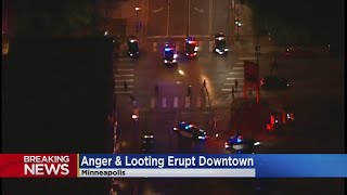 Unrest Grows In Minneapolis Following Murder Suspect's Suicide